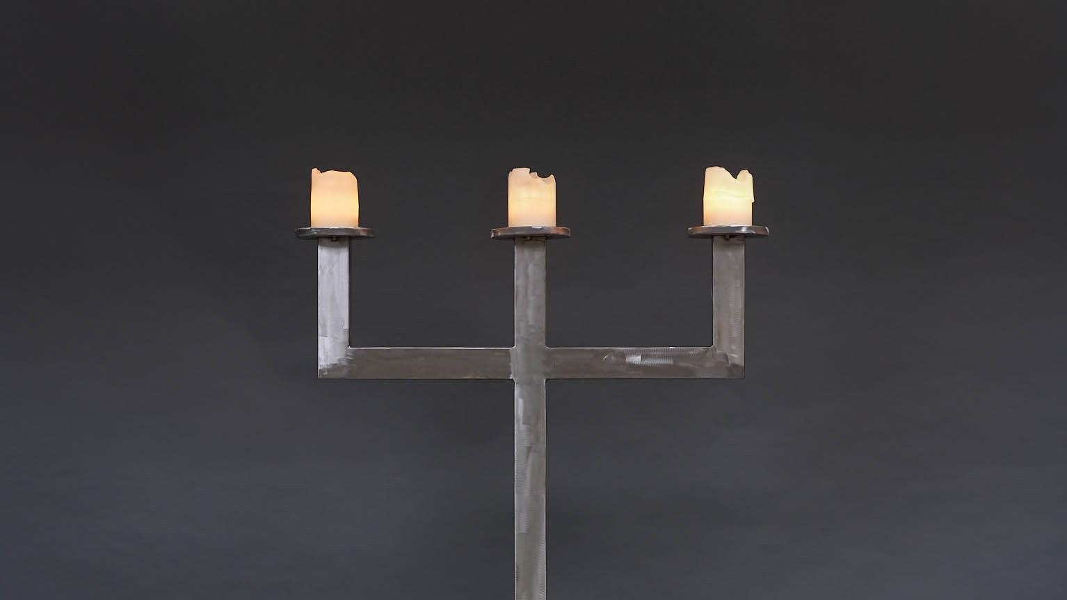 Stahlzeiten-Kerzenleuchter2